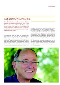 Aus wenig viel machen - Interview mit <b>Urs Niggli</b> zur Biolandbauforschung - gessl-2013-Bio-Fibel-2-Urs-Niggli-im-gespraech-p3-7