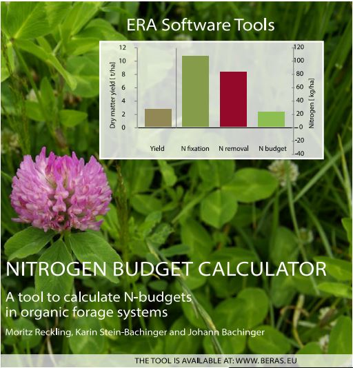 Nitrogen budget calculator. A tool to calculate N-budgets in organic forage systems