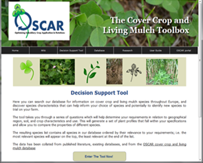 Cover crop and living mulch toolbox