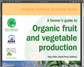 A farmer's guide to organic fruit and vegetable production