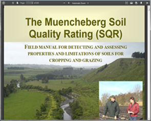 The Muencheberg Soil Quality Rating (SQR)