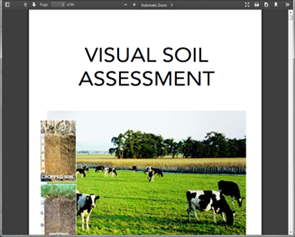 Visual soil assessment: field guide for cropping