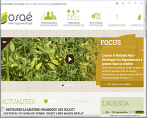 Knowledge exchange platform for agroecology