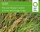 Pest and Disease Control in Grass and Forage Crops